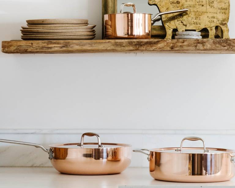 made in copper cookware