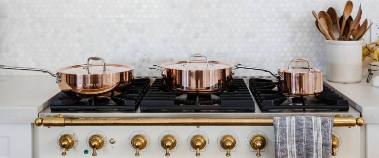 high quality copper cookware