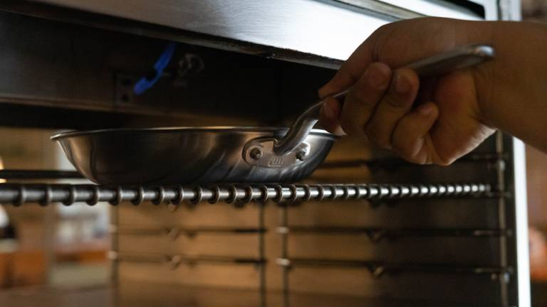 oven safe stainless pan