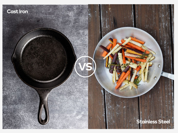 Stainless Steel versus Cast Iron Debate - resolved