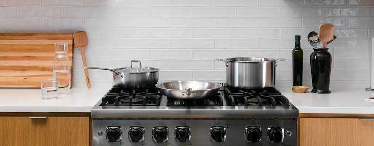 stainless steel cookware collection