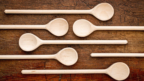 Wooden Spoon great for cooking with nonstick