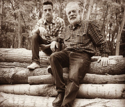 zalan szekely and his carpenter father