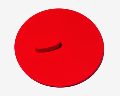 Silicone Universal Lid Pomme Red