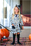 Trick or Treat Salem Dress