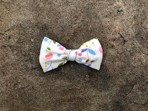 Floral Small Bow &/or Bow Tie