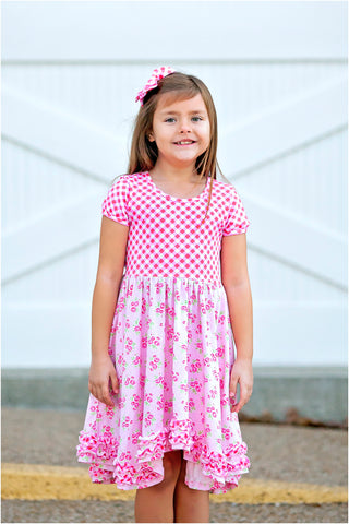 Dainty Rose Dress