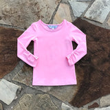 Pretty in Pink Layering Shirt
