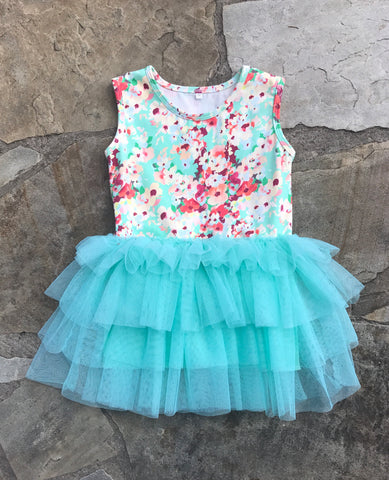 EmmaLynn Floral Tulle Dress