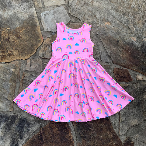 Rainbow Surprise Day Dress SET