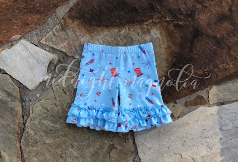 Patriotic Celebration Shorties