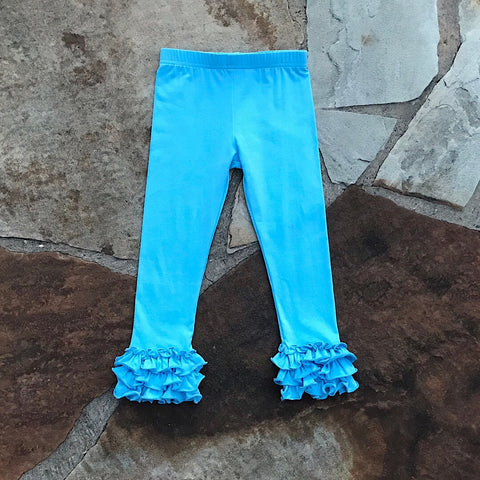Robin Egg Blue Truffle Pants