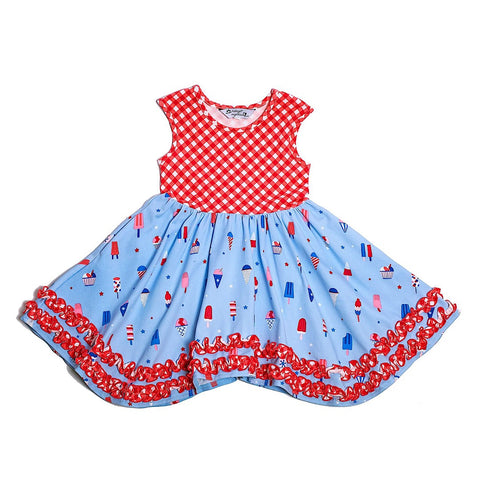 Dainty Popsicle Dress