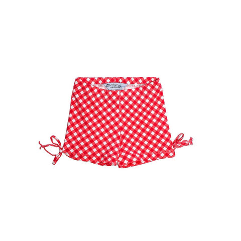 Gingham Honey Bun Shorts