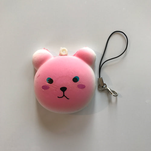 PINK BEAR SQUISHY