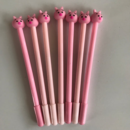 CUTE PIG GEL INK PEN