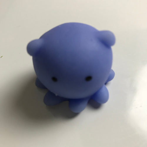 BRIGHT BLUE BABY OCTOPUS MOCHI SQUISHY