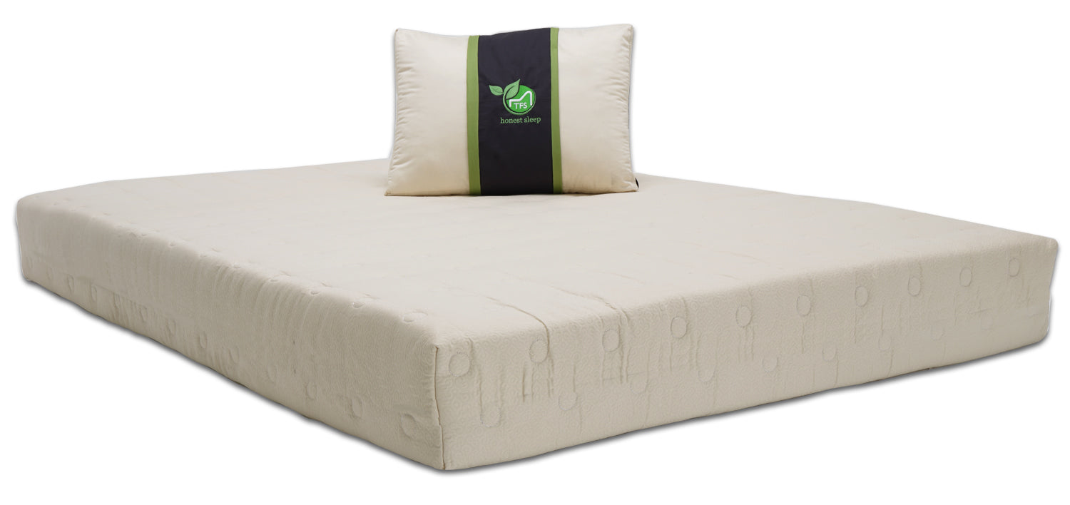 Sleepy Nest Mattress - Coco Coir, Latex, Soy-Gel, MicroCoil Medium ...
