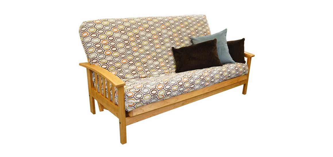 bifold basic bed frame futon