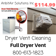 Dryer Vent Cleaning - AnbitAir - Residential