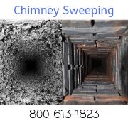 Chimney Sweeping up to 10 feet