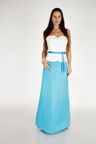 Sweetheart A-line Long Evening Dress