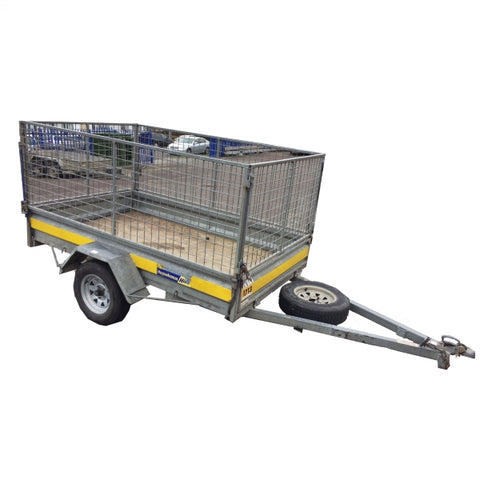 Trailer Cage Single Axle 8X5