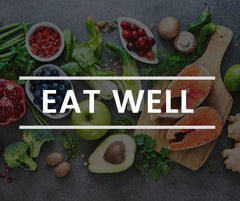 Eat well to decrease stress