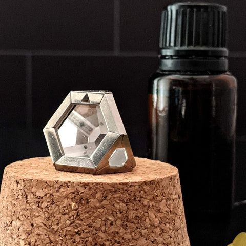 ARK crystal dark tile essential oils
