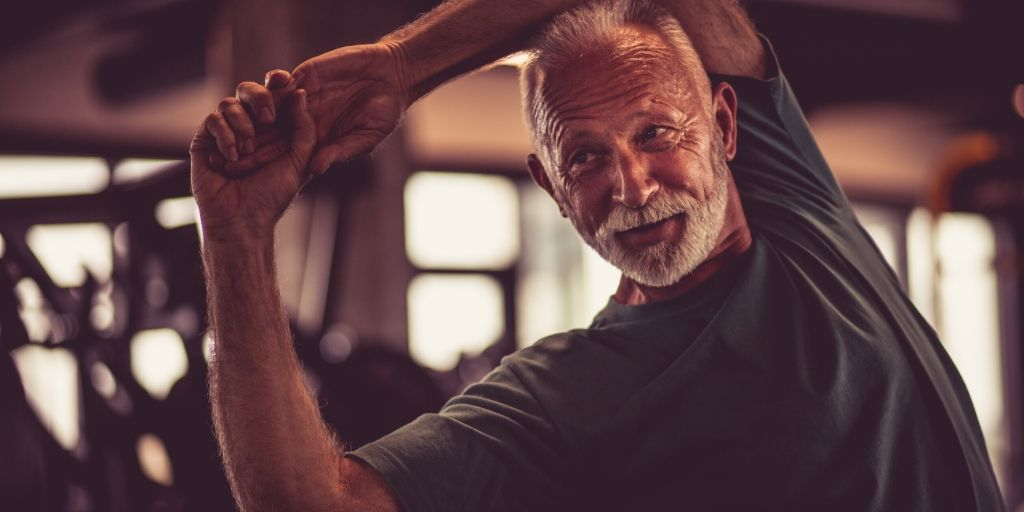 Man with White Beard exercise for quality of life