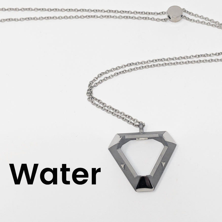 Water Triangle Pendant