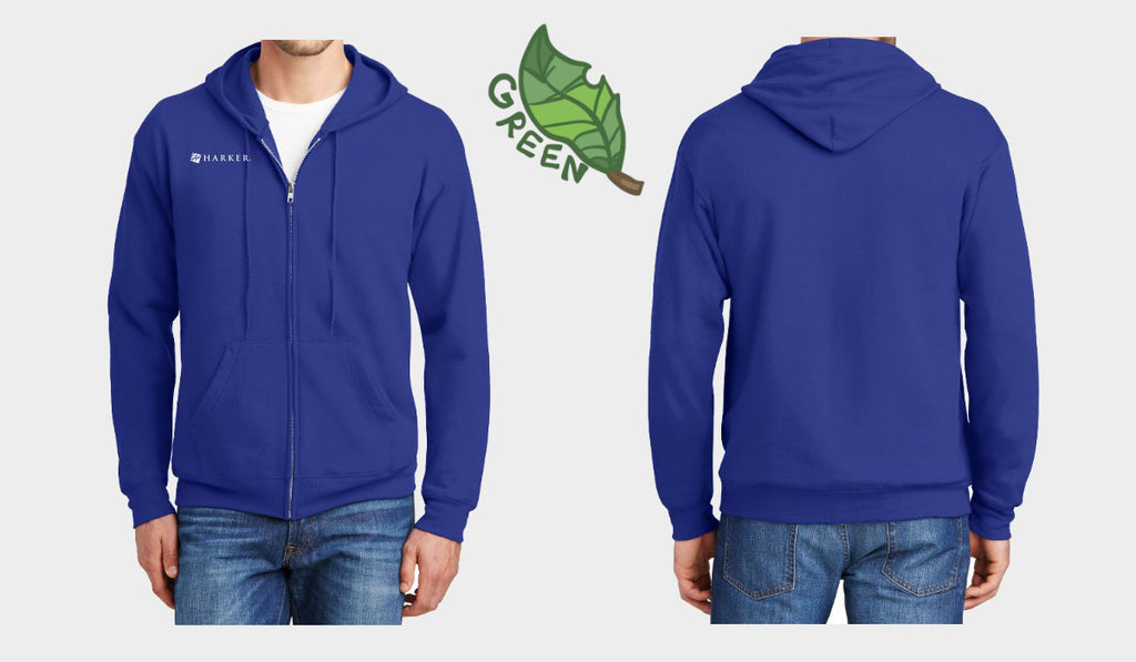 Club EcoSmart Full-Zip Hooded Sweatshirt