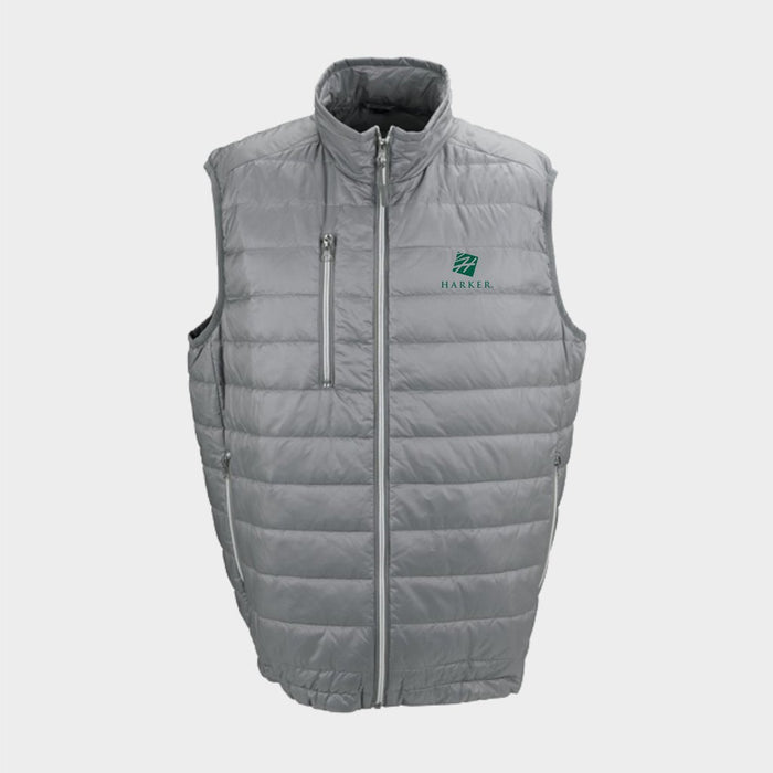 Men's Apex Compressible Quilted Vest (Light Grey)