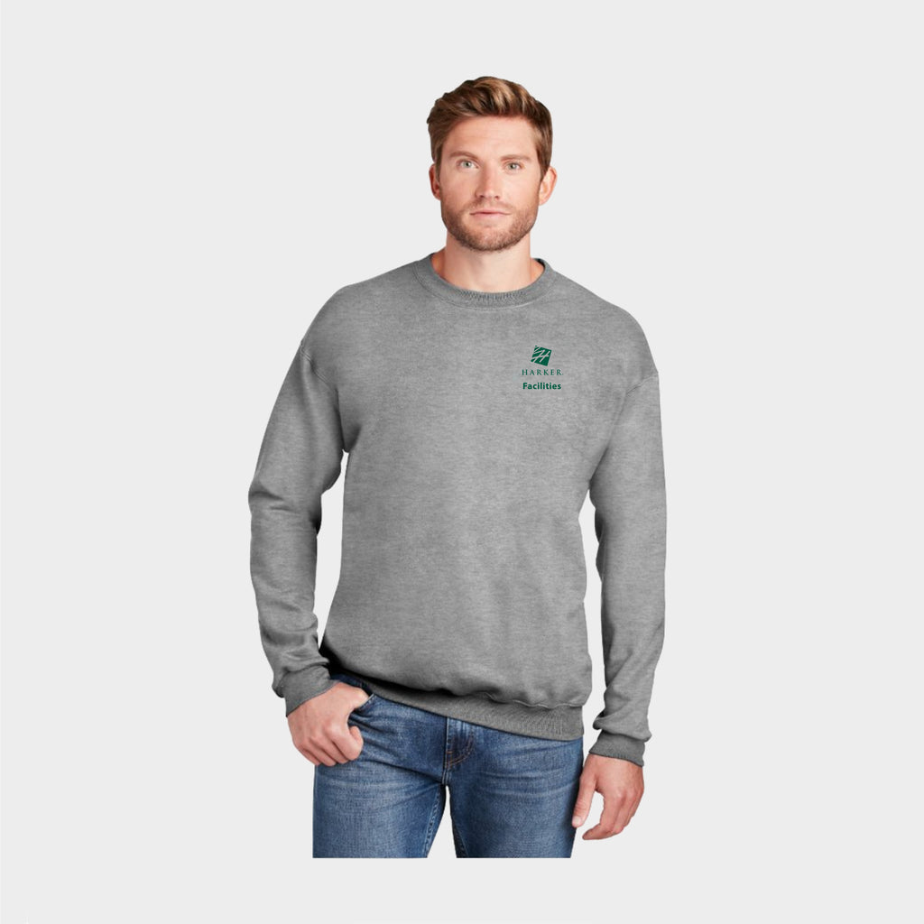 Grey Ultimate Cotton - Crewneck Sweatshirt