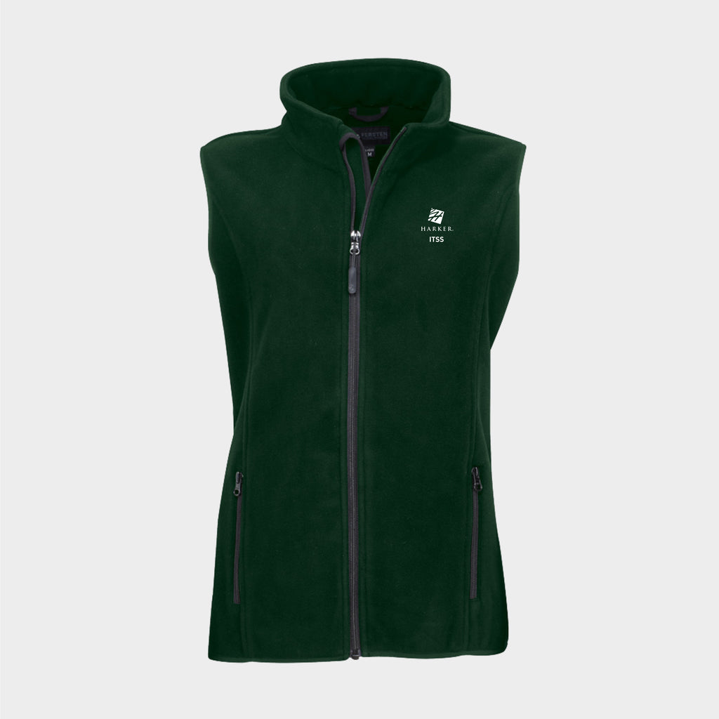 "Women's 3-Layer Full Zip Bonded Fleece ""Trek"" Vest"