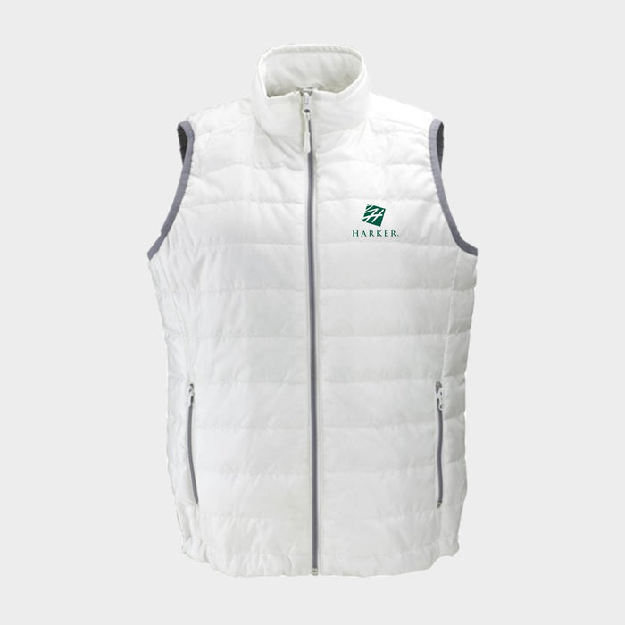 Women's Apex Compressible Quilted Vest (White)