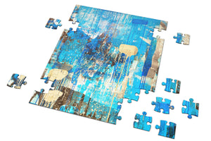 BLUE MONDAY ABSTRACT PUZZLE