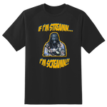 Nappy Boy Gaming: Streamin Screamin T-Shirt Black