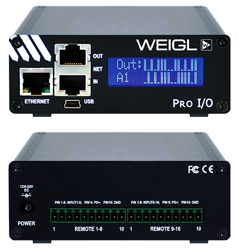 Pro I/O™ Remote Interface