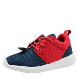 Children's Elastic Lace-Up Runner Shoes
