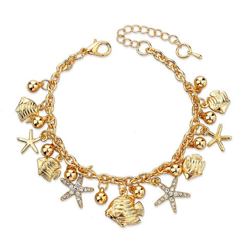 Stylish Bracelet with Charms
