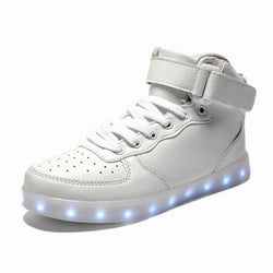 Trendy Runners With LED Light-up Soles