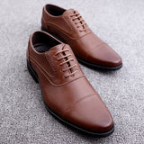 Men's Leather Business Oxford Shoes