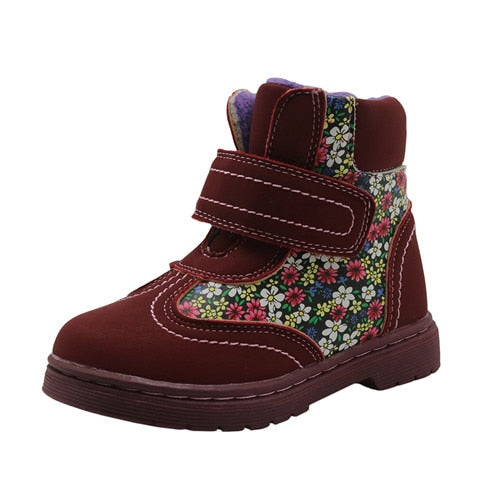 Girl Fall And Winter Warm Boots