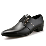 Men's Formal Leather Brown/Black Shoes