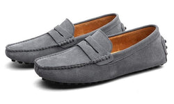 Men's Moccasins Soft Genuine Leather Shoes