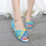 Jelly Strap Shoes Women