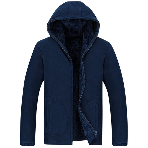 Hooded Casual Winter Coat For Men