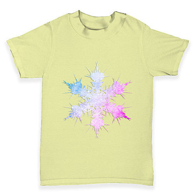 Multi-coloured Snowflake Baby Toddler T-Shirt