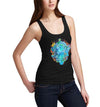 Womens Classic Lions Head Graphic Tank Top